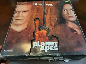 """SIDESHOW Collectibles Planet of the Apes Slave Taylor NO Nova 12"""" Figure #7507"""