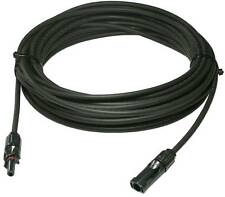 3 Feet Ul Solar Panel Extension Cable Wire Solar Connectors