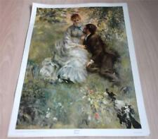 "Idylle by Renoir, Art Print 25""x19"" Art Picture High Quality Official Print"