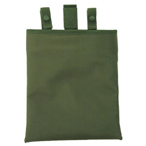 """Voodoo Tactical Roll-Up Molle PALS 6"""" Dump Pouch with Drawstring Collar OD Green"""