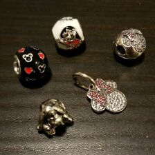 Authentic!! PANDORA Disney charms set of 5