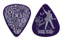Cheap Trick Rick Nielsen Signature Blue R's (Large Logo) Guitar Pick - 2010 Tour