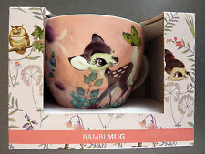 Disney Bambi Tasse XXL Kaffetasse Groß Teetasse Porzellan Becher Mug Primark