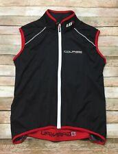 LOUIS GARNEAU Cycling VEST Course Limited Speedzone Adult Black Red Full Zip 2XL
