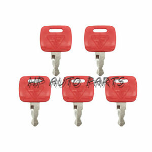 5 PCS RE183935 Ignition Key for John Deere Tractor