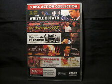 DVD Movie - 5 DISC ACTION COLLECTION - See Details - Brand New Sealed - Region 4