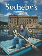 Sotheby`s PREFERRED SEPT-OCT 2014 , XU BING`S BOLD ART AT CHATSWORTH