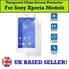 100% Genuine Tempered Glass Screen Protector for Sony Xperia L4 5 10ii 1 L3 XZ