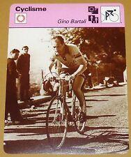 CYCLISME CICLISMO GINO BARTALI ITALIA TOUR FRANCE 1938 1948 LE PIEUX GIRO