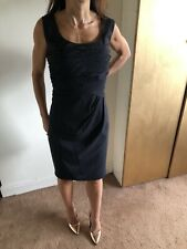 New Coast Shona Black Pencil Wiggle Dress Size 18