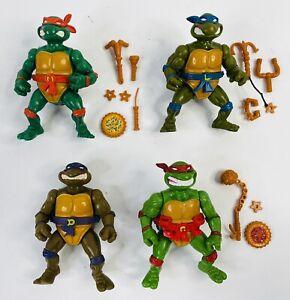 1990 TMNT Teenage Mutant Ninja Turtles Storage Shell (Lot Of 4)