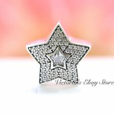 Authentic Pandora Sterling Silver Wishing Star CZ Charm 791384CZ *SPECIAL*