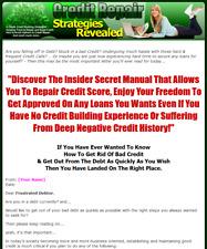 Credit Repair Strategies Revealed Business Website For Sale w/ Bonuses