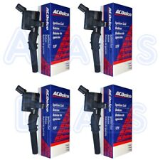 New ACDelco Ignition Coil (Set of 4) For 1997-2017 Ford Lincoln Mercury