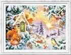 Counted Cross Stitch Kit MAGIC NEEDLE - Winter morning