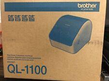 Brother Ql 1100 Desktop Thermal Label Printer 10 Color Display