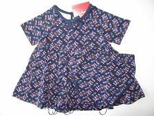 HANNA ANDERSSON Baby Got To Twirl Playdress Dress Panty Set Navy 70 9-12 mos NWT
