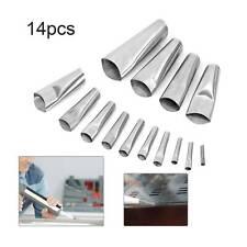 14x Profession Caulking Finisher Silicone Sealant Nozzle Glue Filler Tool Set UK