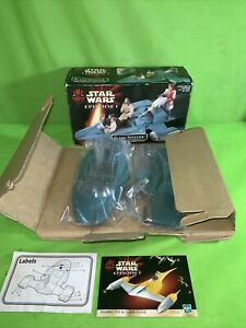 Star Wars Episode 1 Flash Speeder with Laser Cannon - Hasbro 1999 -  Boxed