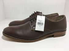 Banana Republic Brown Oxford Leather 192145 Men's Dress Shoes Size 10
