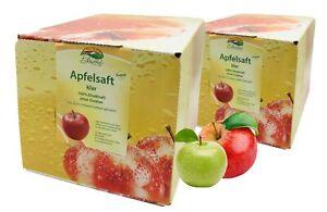Bleichhof Apfelsaft klar – 100% Direktsaft, OHNE Zuckerzusatz (2x 5l Saftbox)