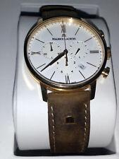 Maurice Lacroix Herren Chronograph Eliros EL1098-SS001-410-1 weiß Gold Neu & OVP
