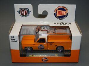 M2 Machines $.99 auction 1975 GMC Sierra Grande 15 Utility HOLLEY Orange MIP