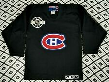 Montreal CANADIENS OFF. LIC. CCM Practice Jersey, Size Boys Youth L/XL