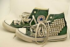 Converse Black All Star Chuck Taylor Studded High Top Shoes  Unisex (W)-7, (M)-5