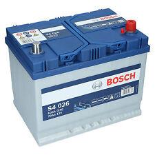 Bosch S4 026 12V 70Ah 630 A EN Autobatterie Starterbatterie ersetzt 65Ah 75Ah