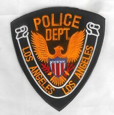 Aufnäher PATCH USA Los Angeles Police Department (12x11 cm) LAPD
