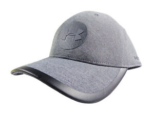 NEW Under Armour Classic Fit Jordan Spieth Grey Elevated Tour Fitted L/XL Hat