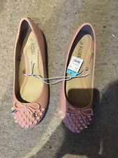 BNWT fiore By Matalan Pink Studded Shoes Size 5