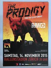 THE PRODIGY  2015 ZÜRICH  ++  orig.Concert Poster -- Konzert Plakat   NEU
