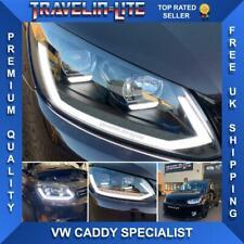VW Caddy Headlights With DRL & Dynamic Indicators 2010 - 2015 MK4