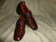 MENS  VTG  EATON CLUBMAN HANDMADE IN ENGLAND  SHOES   - SIZE  UK 8