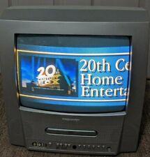 """Magnavox 13MDTD20/17 13"""" TV DVD Player Combo AV input RETRO GAMING CRT TESTED!!"""