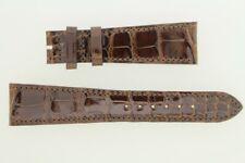 PATEK PHILIPPE Bracelet pour montre cuir brun 21 mm (40072)