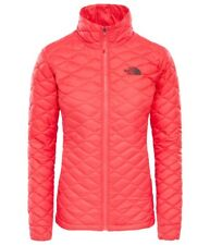 The North Face Thermoball Women's Ladies Jacket Coat Size Medium Atomic Pink