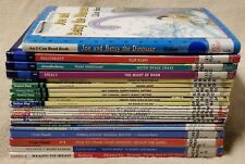Lot 23 Children's LEVEL READERS 1 2 3 4 SCHOLASTIC Step Into I CAN READ ex-libr.