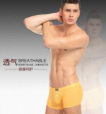 Men's Slinky Soft Stretchy Semi-Transparent Spandex Boxer Shorts Lycra Underwear