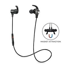 a5280b75bf1 TaoTronics Bluetooth Headphones Wireless 4.1 Magnetic Earbuds Stereo D30