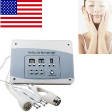 Pro Needless Mesotherapy Facial Microcurrent Face Lift Photon Skin Care Device