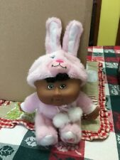 2008 CABBAGE PATCH CUTIES  PINK BUNNY PLUSH DOLL