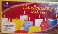 Yaley Candlemaking Made Easy Candle Making Kit New 3 Colors Vanilla Scent