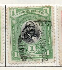 Peru 1895-1902 Early Issue Fine Used 1c. 182273