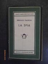 SERGIUSZ PIASECKI - La spia - 1956 - Medusa Mondadori