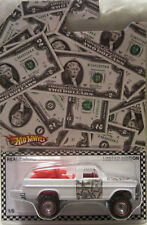 Hot Wheels CUSTOM TEXAS DRIVE 'EM Money Car Real Riders Limited 1/5 Made!
