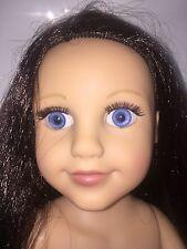 """Toys R Us Geoffrey Journey Girls Dana Doll 18"""" Blue Eyes 2012"""