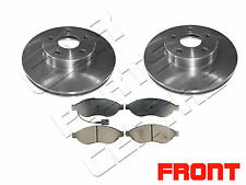 FOR PEUGEOT BOXER 2.2 3.0 HDi FRONT VENTED BRAKE DISCS DISCS PAD PADS SET 06-11